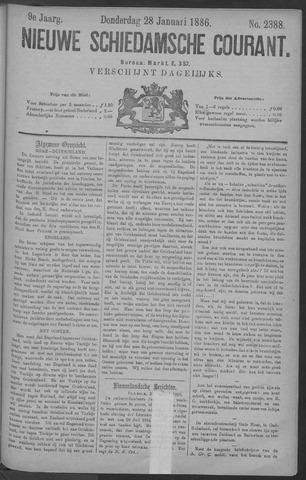 Nieuwe Schiedamsche Courant 1886-01-28