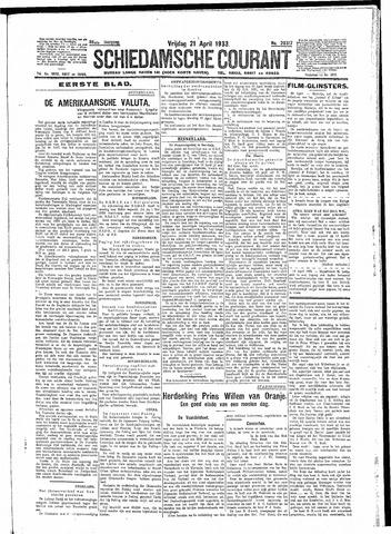 Schiedamsche Courant 1933-04-21
