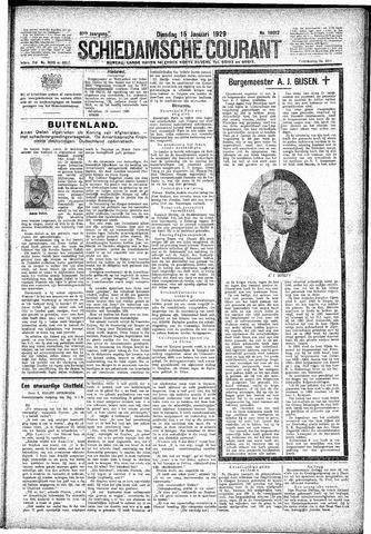 Schiedamsche Courant 1929-01-15