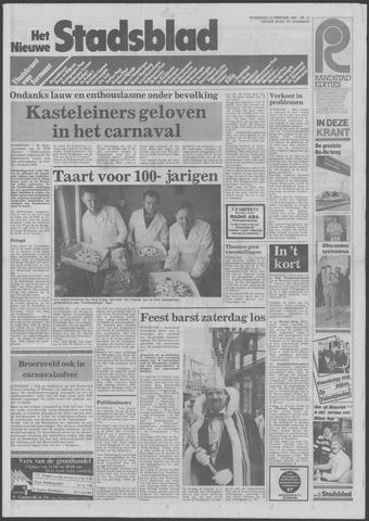 Het Nieuwe Stadsblad 1985-02-13