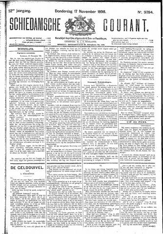 Schiedamsche Courant 1898-11-17