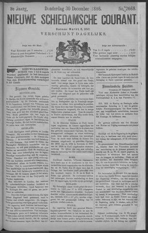 Nieuwe Schiedamsche Courant 1886-12-30