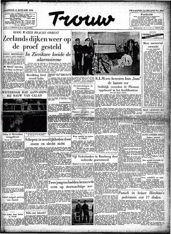 Trouw / De Rotterdammer 1954-01-04