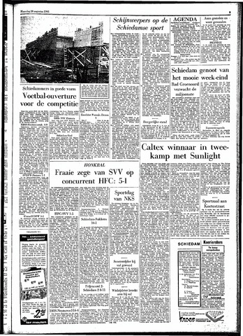 Rotterdamsch Parool / De Schiedammer 1961-08-28