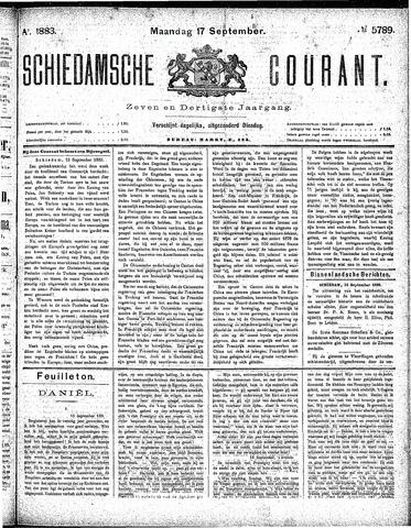 Schiedamsche Courant 1883-09-17