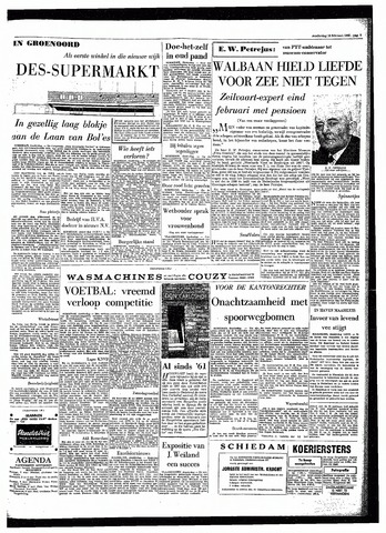 Rotterdamsch Parool / De Schiedammer 1964-02-13