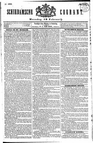 Schiedamsche Courant 1862-02-10