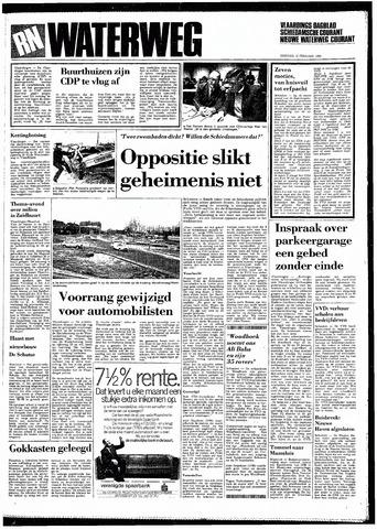 Rotterdamsch Nieuwsblad / Schiedamsche Courant / Rotterdams Dagblad / Waterweg / Algemeen Dagblad 1985-02-12