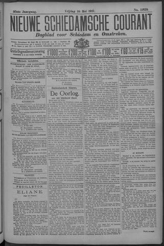 Nieuwe Schiedamsche Courant 1917-05-18