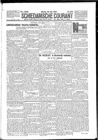 Schiedamsche Courant 1933-06-20