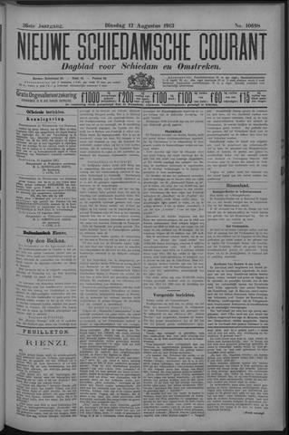 Nieuwe Schiedamsche Courant 1913-08-12