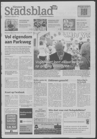 Het Nieuwe Stadsblad 2014-09-10