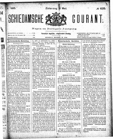 Schiedamsche Courant 1885-05-16