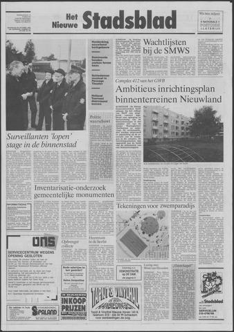 Het Nieuwe Stadsblad 1992-10-28