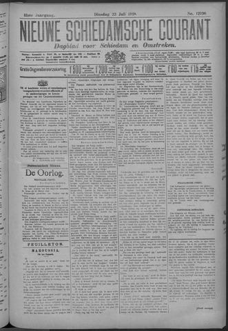 Nieuwe Schiedamsche Courant 1918-07-23