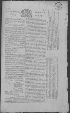 Rotterdamse Courant 1826-07-06