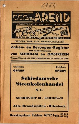 Adresboeken 1954-01-01