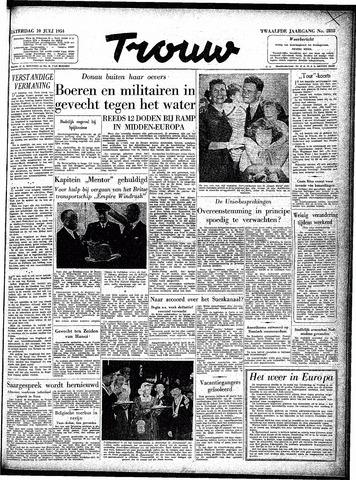 Trouw / De Rotterdammer 1954-07-10