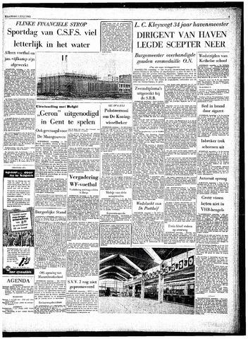 Rotterdamsch Parool / De Schiedammer 1963-07-01