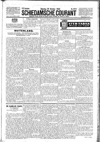 Schiedamsche Courant 1929-10-29