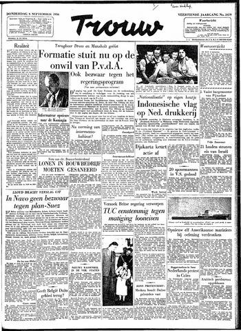 Trouw / De Rotterdammer 1956-09-06