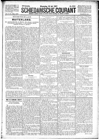 Schiedamsche Courant 1927-07-13
