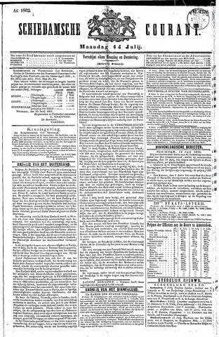 Schiedamsche Courant 1862-07-14
