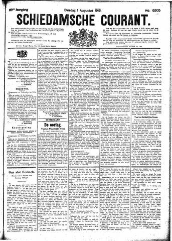 Schiedamsche Courant 1916-08-01