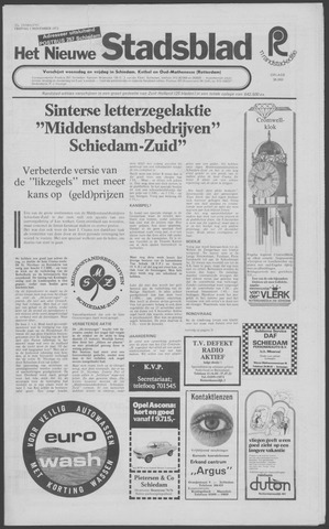 Het Nieuwe Stadsblad 1973-11-01