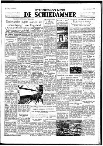 Rotterdamsch Parool / De Schiedammer 1949-06-01