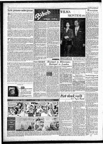 Rotterdamsch Parool / De Schiedammer 1957-10-01