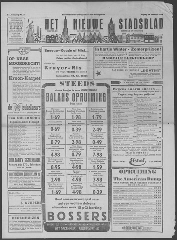 Het Nieuwe Stadsblad 1953