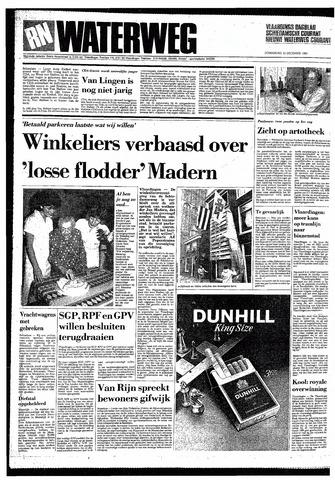 Rotterdamsch Nieuwsblad / Schiedamsche Courant / Rotterdams Dagblad / Waterweg / Algemeen Dagblad 1985-12-12