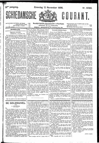 Schiedamsche Courant 1898-11-12