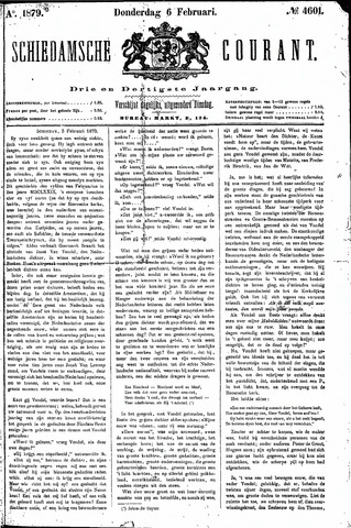 Schiedamsche Courant 1879-02-06