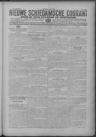 Nieuwe Schiedamsche Courant 1925-04-01