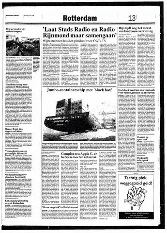 Rotterdamsch Nieuwsblad / Schiedamsche Courant / Rotterdams Dagblad / Waterweg / Algemeen Dagblad 1993-07-03