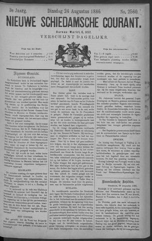Nieuwe Schiedamsche Courant 1886-08-24