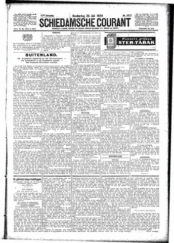 Schiedamsche Courant 1929-07-25