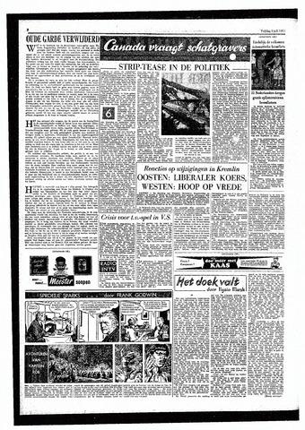 Rotterdamsch Parool / De Schiedammer 1957-07-05