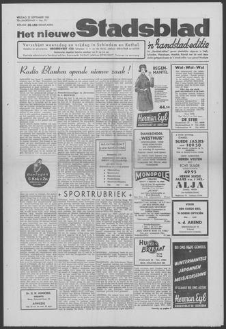 Het Nieuwe Stadsblad 1961-09-22