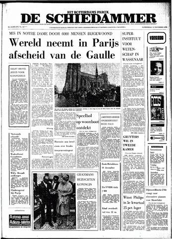 Rotterdamsch Parool / De Schiedammer 1970-11-12