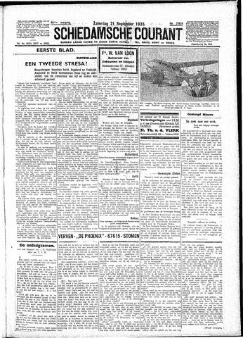 Schiedamsche Courant 1935-09-21