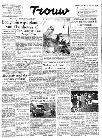 Trouw / De Rotterdammer 1955-08-05