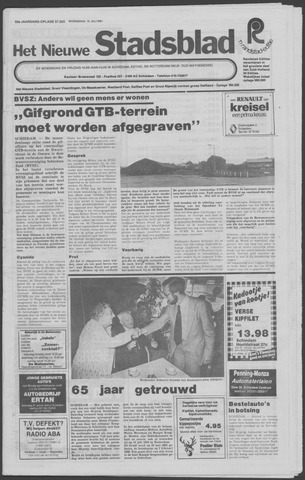 Het Nieuwe Stadsblad 1981-07-15