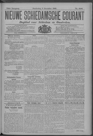 Nieuwe Schiedamsche Courant 1909-12-09