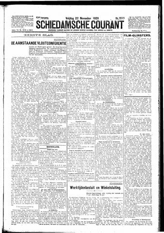 Schiedamsche Courant 1929-11-22