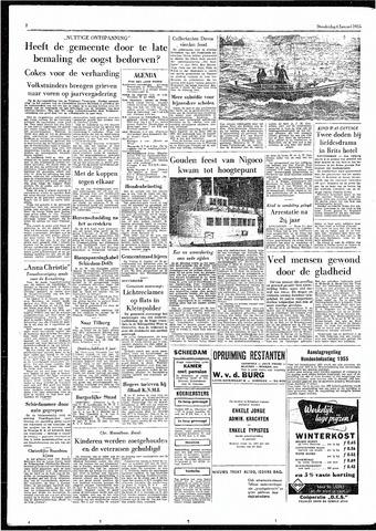 Rotterdamsch Parool / De Schiedammer 1955-01-06