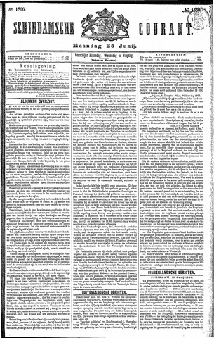 Schiedamsche Courant 1866-06-25