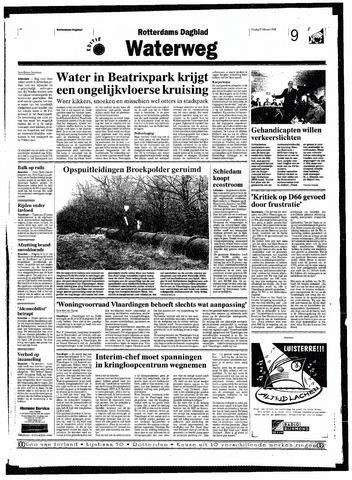 Rotterdamsch Nieuwsblad / Schiedamsche Courant / Rotterdams Dagblad / Waterweg / Algemeen Dagblad 1998-02-27
